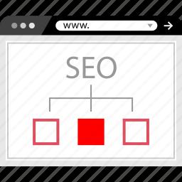 marketing, seo, web, www icon