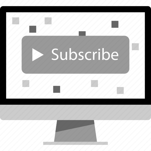 channel, subscribe, web, youtube icon