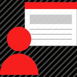 boss, person, user, window icon