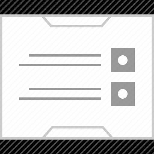 address, mockup, online, web icon