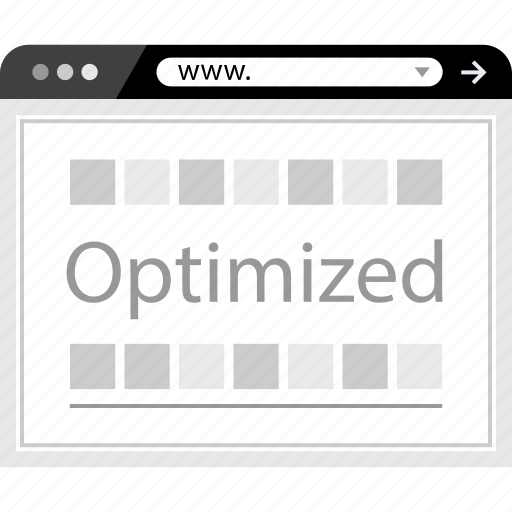 optimization, optimized, web, www icon