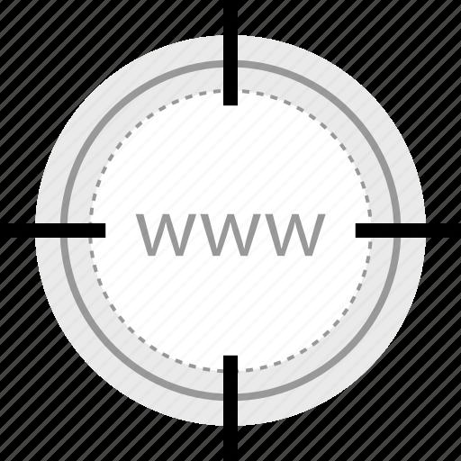 goal, target, www icon