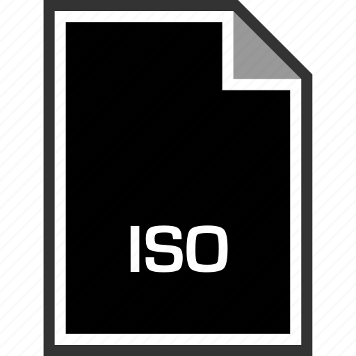 extension, iso, sleeksvg icon