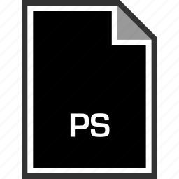 extension, ps, sleek icon