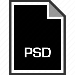 extension, psd, sleek icon
