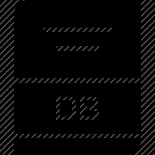 archive, db, file icon