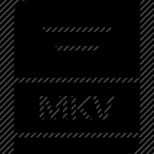archive, file, mkv icon