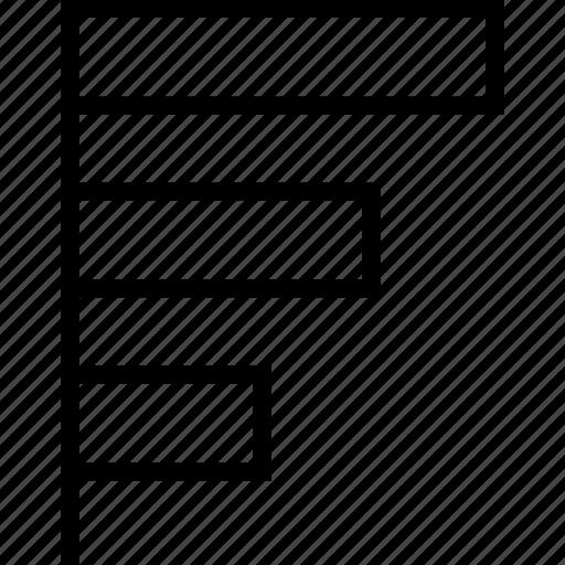 chart, data, graph, report icon