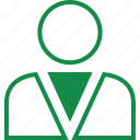 boss, business, employee, friend, profile, staff, user icon
