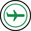 airline, airplane, business, expense, plane, travel icon