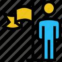 achievement, business, flag, goal, success, user