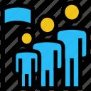 achievement, business, flag, goal, success, users