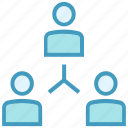 business, group, office, online business, sharing, teamwork, users icon