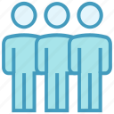 businessmen, employees, persons, stand users, users icon