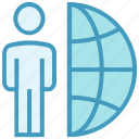 business, globe, international job, online business, person, user, world