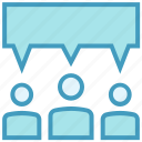 business, comment, message, people, talk, users icon