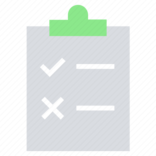 business, clipboard, list, management, office, paper icon