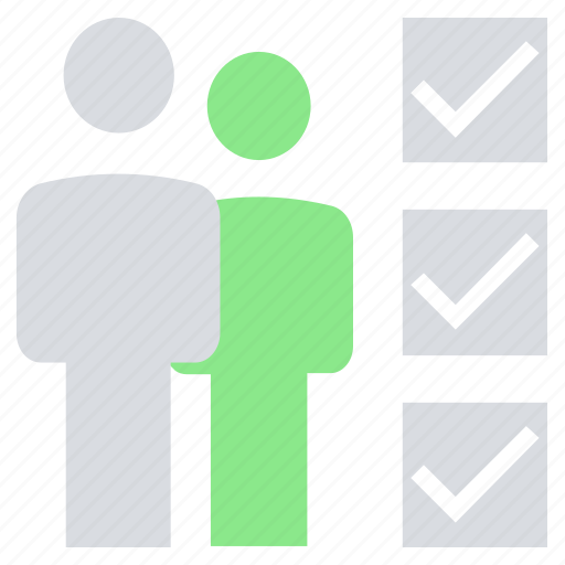 businessmen, mark, office, persons, success, users icon