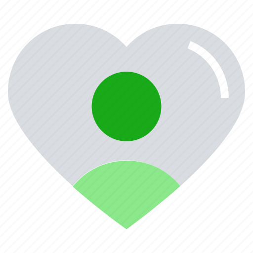 business, customer, favorite user, heart, person, relationship, user icon