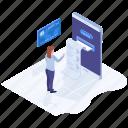 digital bill, digital invoice, online billing, online invoice, online receipt icon