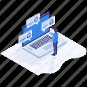 customer comment, customer evaluation, customer feedback, customer remarks, customer testimonials icon