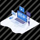 internet marketing, marketing campaign, search engine optimization, seo, web optimize icon