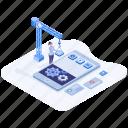 mobile app development, mobile application management, mobile development, mobile device testing, mobile software development icon