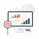 business, cloud, research, search, settings, share, statistics icon