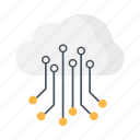 business, cloud, information, internet, office, server, share icon