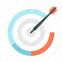 business, digital marketing, marketing, meeting, success, target, time icon