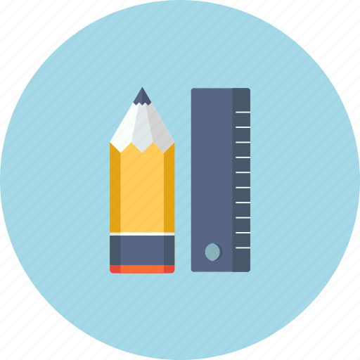 Business, marketing, note, pen, pencil, ruler, writing icon - Download on Iconfinder