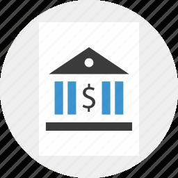 banking, internet, online, web icon