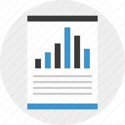 bars, business, data, online, report icon