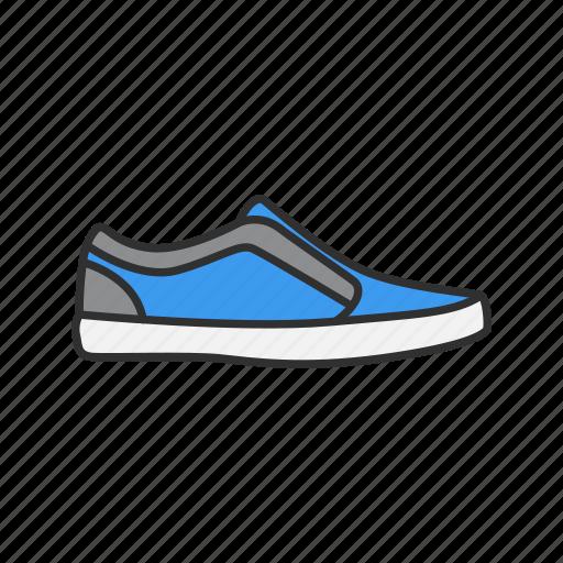 casual shoes, footwear, men's shoes, shoes icon