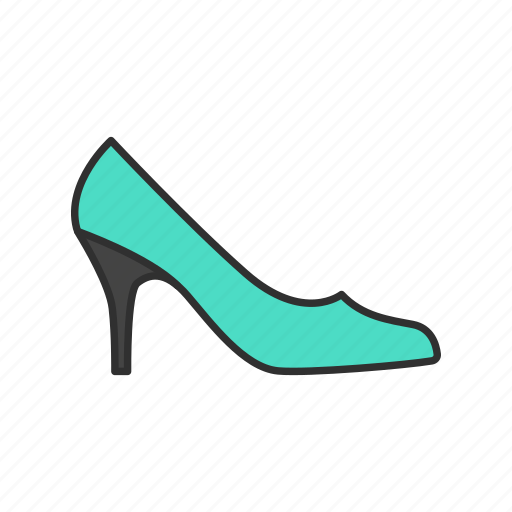 footwear, high heels, shoes, women's shoes icon