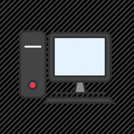 computer, desktop, pc, technology icon