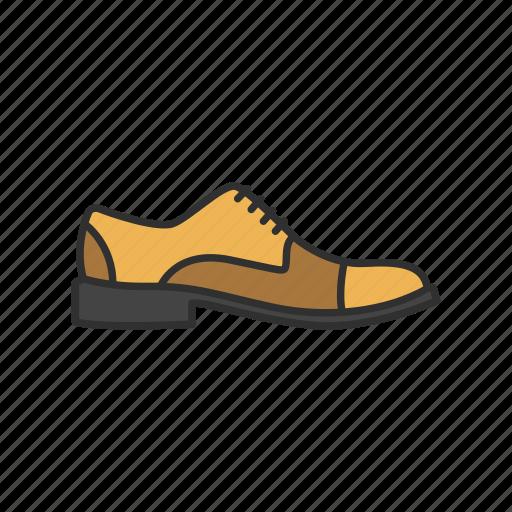footwear, formal shoes, men's shoes, shoes icon