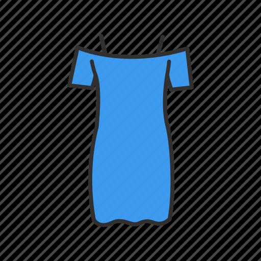 clothing, dress, shopping, women's dress icon