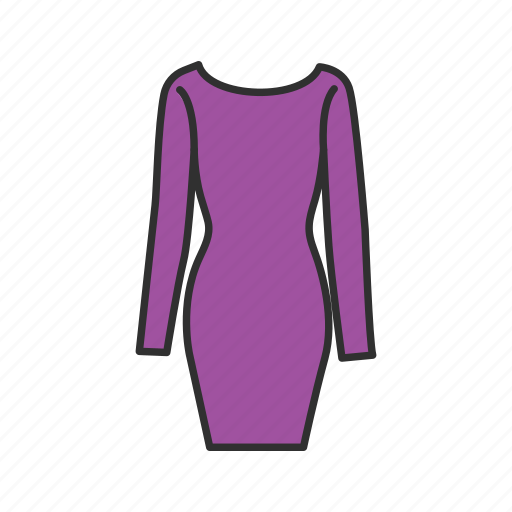 clothing, dress, shopping, women's dress icon