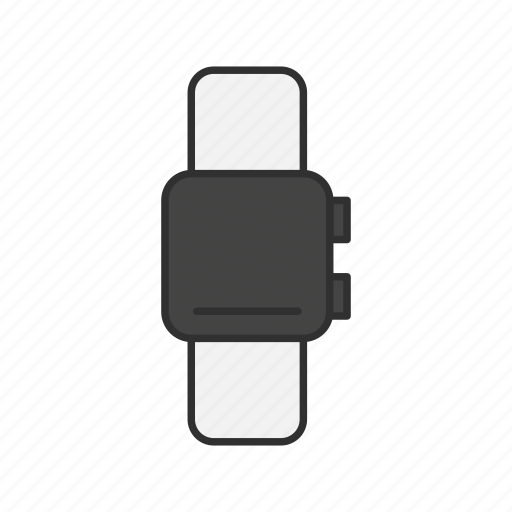 apple watch, smart watch, time, watch icon