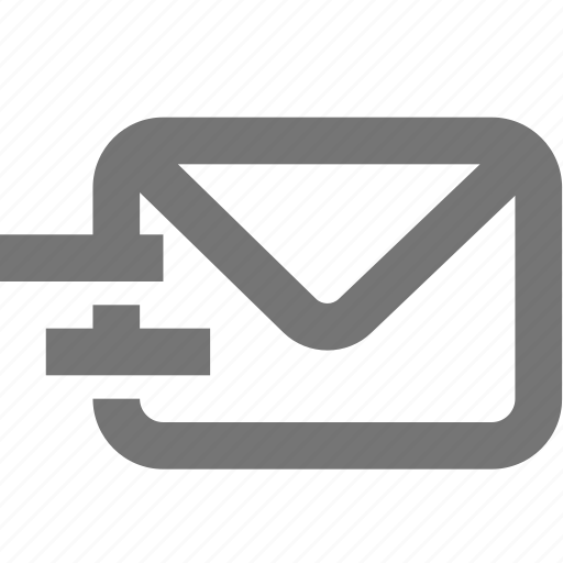 email, fast, material, message, outline, urgent icon