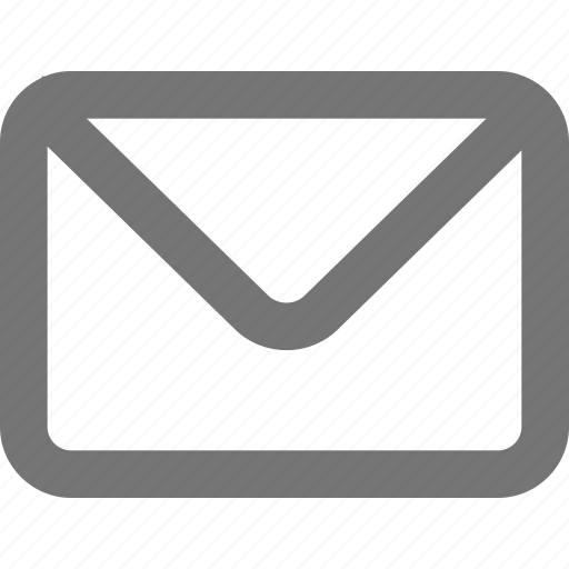 inbox, mail, mark, material, message, outline, unread icon