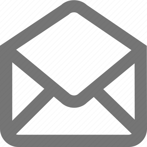 draft, mail, mark, material, message, outline, read icon