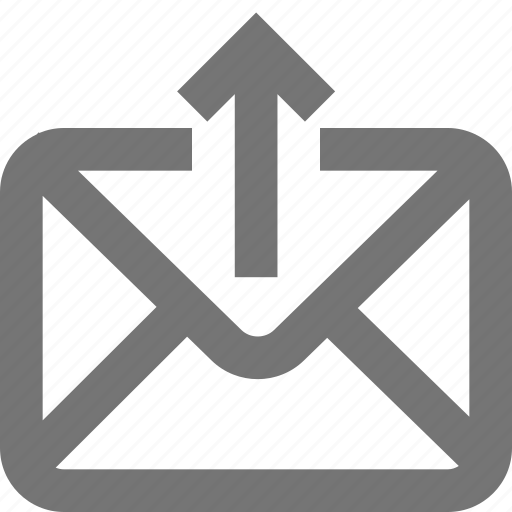 export, mail, material, message, outbox, outline, sent icon