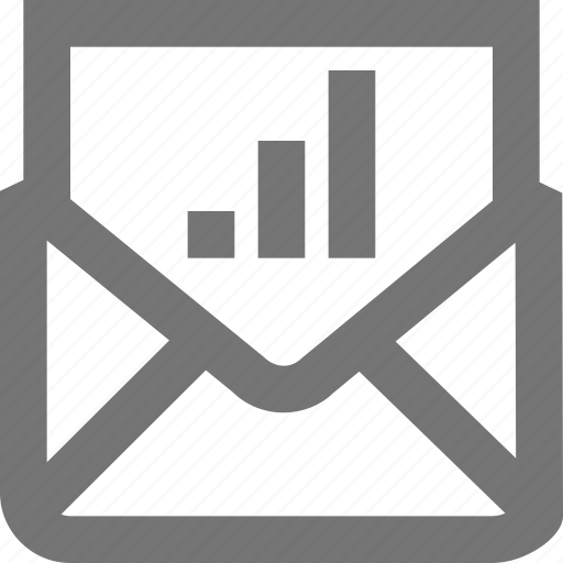 business, chart, communication, mail, material, message, report icon