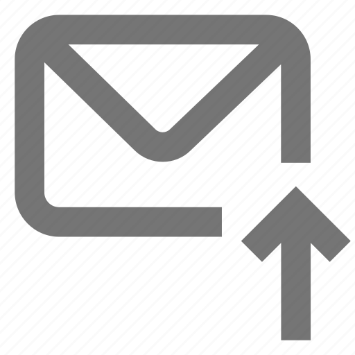 export, mail, material, message, move to, outbox, upload icon