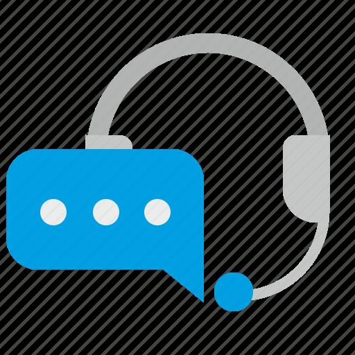 dialog, headphones, message, mic, microphone, skype icon