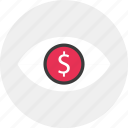 business, find, for, look, money, search icon
