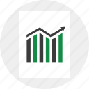 arrow, business, up icon