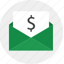 business, data, email, envelope, mail, send icon